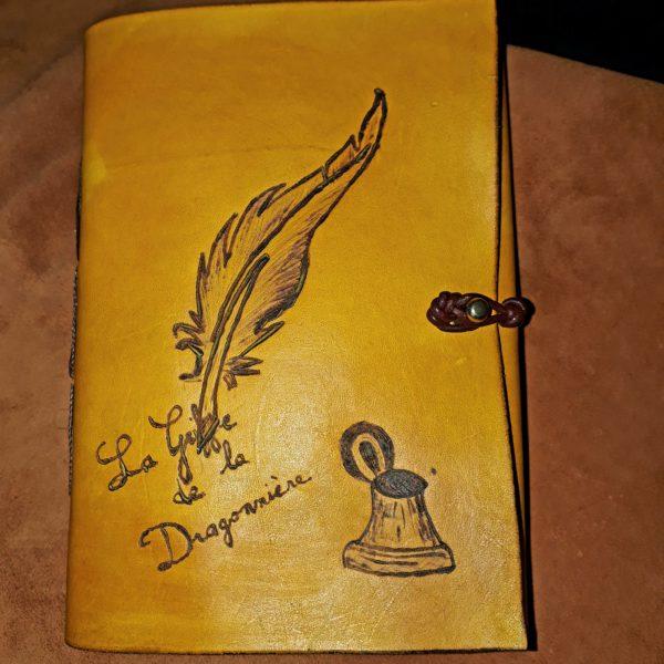 carnet de note écriture plume