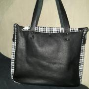 sac besace urbain décalé stylé noir dos