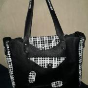 sac besace urbain décalé stylé noir face2